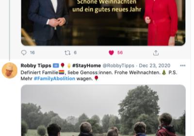 ..., doch ich will mehr FamilyAbolition wagen. darum: Giffey verhindern, Vorwärts, SPD. Nicht reaktionär sein.