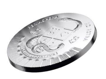 Le Grand Mint Animation Rückseite der Silbermünze Liberty