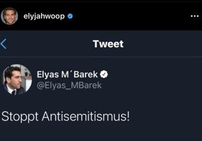 """""""Stoppt Antisemitismus"""""""