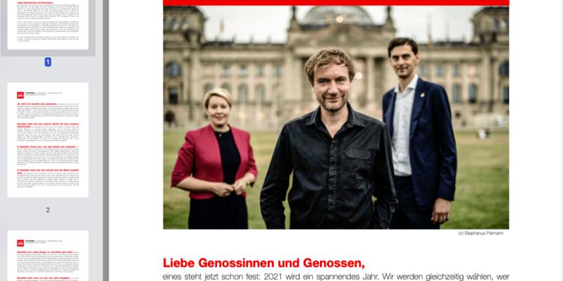 Zitat von Tim Renner aus Kandidatenbrief von Ende 2019 zum Mitgliederentscheid der SPD Neukölln über Direktkandidatur für den Bundestag im Jahre 2021