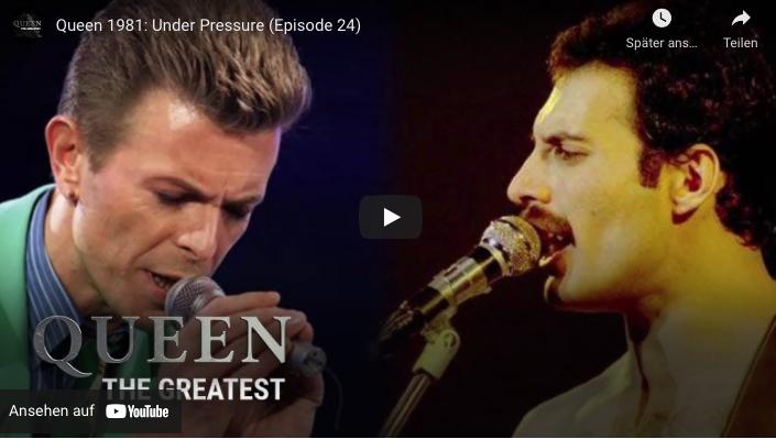 "Queen-Video Under Pressure""-Story"